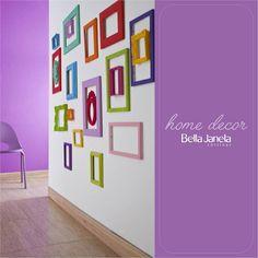 Deixar a casa colorida pode ser uma ideia super divertida!