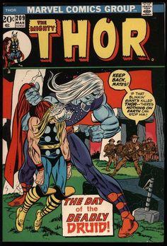 Thor 209 … Marvel comics