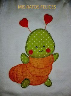 This is a non-stop, what do you want to do my granddaughter little things haha … - Stofftier Applique Templates, Applique Patterns, Applique Quilts, Applique Designs, Embroidery Applique, Quilting Projects, Quilting Designs, Sewing Projects, Quilt Baby
