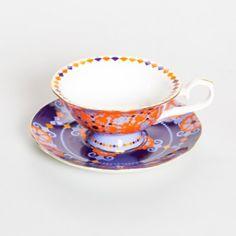 Rockin Moroccan Purple Cup & Saucer
