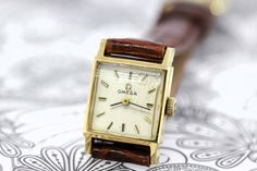 Ladies Omega Wrist Watch 14K Gold Plated by timekeepersinclayton