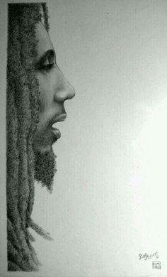 Bob Marley, by Joaquim Cruz Bob Marley Painting, Bob Marley Art, Bob Marley Quotes, Rasta Art, Bob Marley Legend, Bob Marley Pictures, Marley And Me, Robert Nesta, Nesta Marley