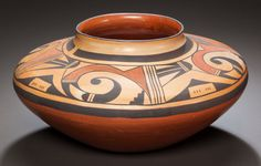 American Indian Art:Pottery, A HOPI POLYCHROME SEED JAR. Garnet Pavatea. c. 1959...