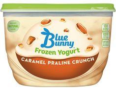 Caramel Praline Crunch Frozen Yogurt