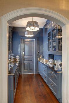 Douglas VanderHorn Architects   Shingle Style   Butler's Pantry