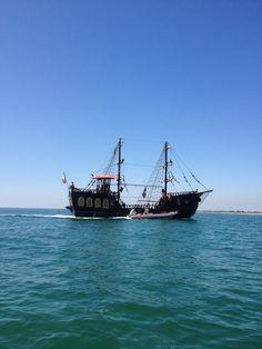 Bibione Italy het piratenschip