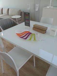 'splay' salad servers at Ligne Roset Ligne Roset, Corner Desk, Salad, Furniture, Home Decor, Products, Corner Table, Decoration Home, Room Decor