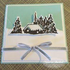 2015   Cozy Christmas Stamp Set  and Home for Christmas Designer Series Paper.