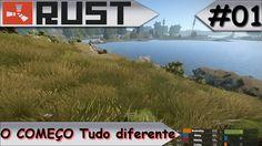 RUST O COMEÇO Tudo diferente #01