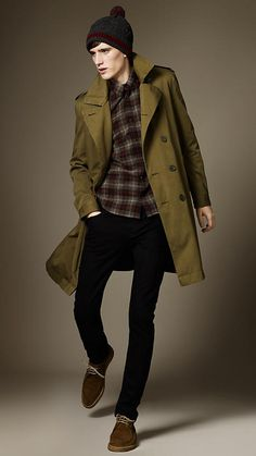 Shoreditch Overdyed Skinny Fit Jeans   Burberry.