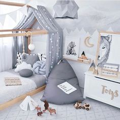 kleinkind zimmer We deeply hope these 80 Most Lovely And Funny Room Decoration Ideas For Kids Best Memory be your favorite choice . We hope you love it and save it. Baby Bedroom, Baby Boy Rooms, Baby Room Decor, Nursery Room, Kids Bedroom, Bedroom Ideas, Room Kids, Bed Ideas, White Bedroom