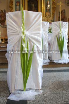 oryginalna dekoracja kościoła ślub - Szukaj w Google