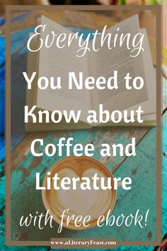 There's nothing better than a good cup of coffee coupled with a good book. For National Coffee Day, let's celebrate both! Fun ideas, free coffee, and an ebook!