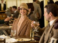 Downton Abbey season 5 episode 6: Lady Rose is all smiles as she talks to Charles Blake