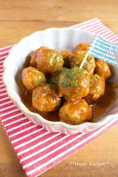 レンジで5分で簡単!お弁当にオススメ*照り焼きミートボール(レンチンミートボールシリーズ)   たっきーママ オフィシャルブログ「たっきーママ@Happy Kitchen」Powered by Ameba