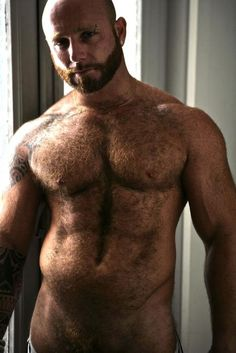 Muscle men tumblr hairy