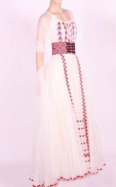 Stylish Dresses For Girls, Stylish Dress Designs, Simple Dresses, Cute Dresses, Beautiful Dresses, Casual Dresses, Fashion Dresses, Hijab Evening Dress, Ukrainian Dress