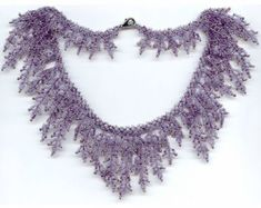 Pattern seed beaded necklace beading patterns necklace by GBDesign