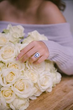 24 Hours in Paris - The Proposal - The Londoner Radiant Engagement Rings, Tanzanite Engagement Ring, Beautiful Engagement Rings, Perfect Wedding, Dream Wedding, Blue Sapphire Rings, Saphire Ring, When I Get Married, Ring Verlobung