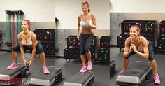 Elevate Your Cardio And Make It Burn, Baby, Burn! Step 1 – Elevated Deep Squats Step 2 – Step Runs Step 3 – Elevated Frog Squat Jumps Repeat for 5 more rounds