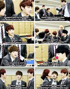 Jimin has the sweetest idea while Jin is so straight forward lol