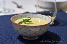 Schwarzwurzel Suppe Rezept mit Wintergemüse. Wintersuppe mit Schwarzwurzeln (Winterspargeln). Gesunde Suppe. Grains, Paleo, Cooking, Tableware, Winter Treats, Asparagus, Kitchen, Dinnerware, Tablewares