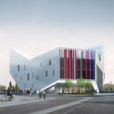Lil Euralille Youth Centre By JDS Architects