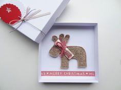 Gutscheine - Geldgeschenk Weihnachten Rentier - ein Designerstück von schnurzpieps bei DaWanda