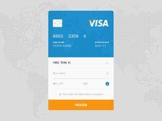 DailyUI #002 - Credit Card Checkout