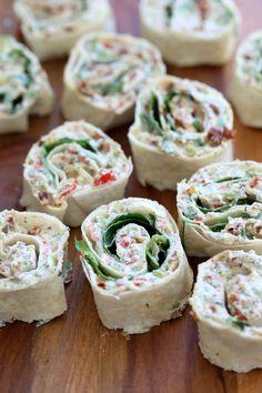 Vegan Tortilla Roll Ups Recipe with Dairy free cream cheese - Vegan Richa