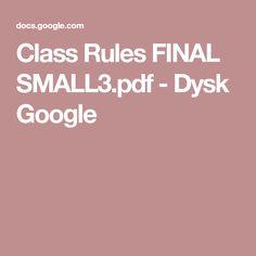 Class Rules FINAL SMALL3.pdf - Dysk Google