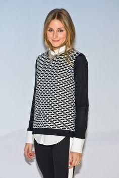 Olivia Palermo - Tibi - Front Row - Mercedes-Benz Fashion Week Fall 2014