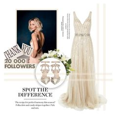 """""""Thank you so much for 20 000 followers!♥"""" by tvdsarahmichele ❤ liked on Polyvore featuring Jovani and Valentino"""