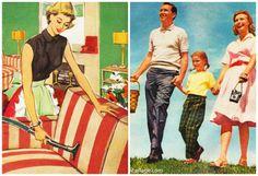 Vintage Ads (L) Electrolux 1952 (R) Kodak 1951