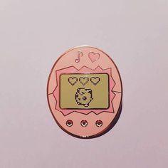 Jigglygotchi Enamel Pin (Jigglypuff x Tamagotchi)