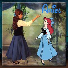 The Little Mermaid Disneybound