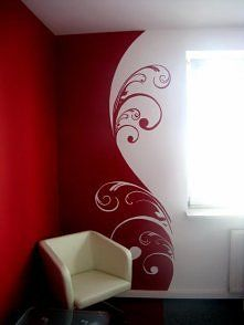 Computer Room Paint Wall Painting For Bedroom Faux Walls Red