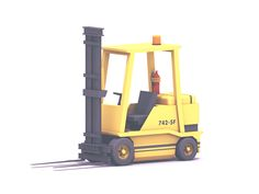 Forklift by Timothy J. Reynolds | 3D | Low Poly
