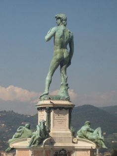 Statue of David, Florence, Italy .