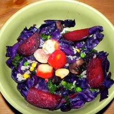 Healthy Lunch Idea: Colorful Feast