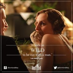 wild and crazy Edith?!