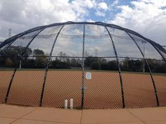The softball diamond at the Libertyville Sports Complex features lights for night play and hosts adult leagues every night of the week in spring, summer and fall.