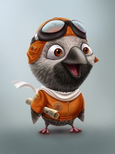 Character Design: People & Animals on Behance