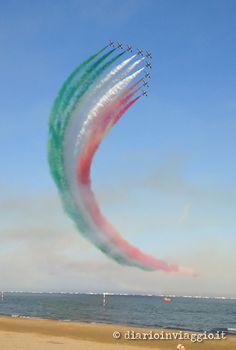 #Lignano Sabbiadoro, Italy Frecce tricolori