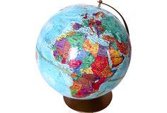 Replogle World Globe on OneKingsLane.com