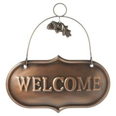 Smith & Hawken™ Welcome Sign