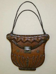 Embossed Leather Purse