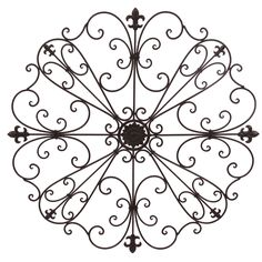Iron Wall Art classic and decorative wrought iron wall decor and designs ideas
