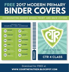 """Did you already see that I made up some DARLING 2017 Free Primary Printables?If not, be sure to check them our HERE! They were inspired by President Monson's talk,""""Choose the Right Path"""" with a fun"""