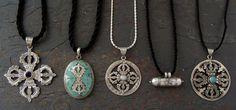 Silver Dorje Necklaces